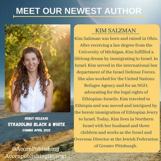 NEW AUTHOR, Kim Salzman