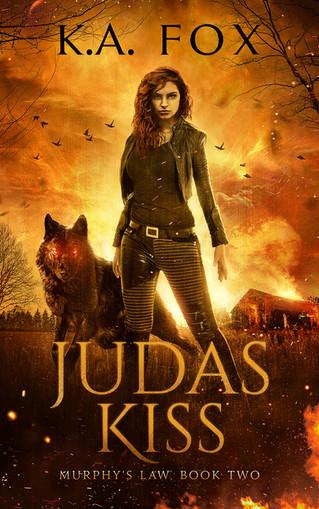 COVER REVEAL - Judas Kiss