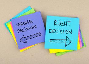 Hur långt är du beredd att gå för att slippa ta ett obekvämt beslut?