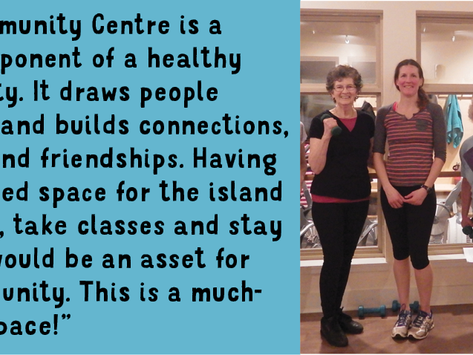 How the Community Centre will benefit Bowen Island