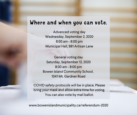 Where, when and how you can vote in the Community Centre referendum