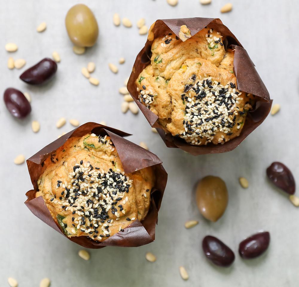 Gluten & Dairy Free Savoury Muffin.