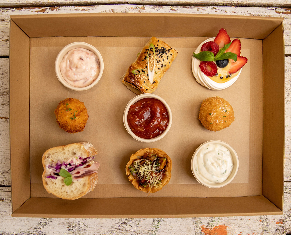 Have fun connecting over delicious catering in Perth. You can order this catering package online.