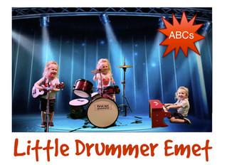 Our little drummer Emet!