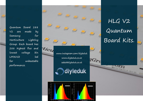 265w Quantum Board V2 Led Kit [Dimmable]
