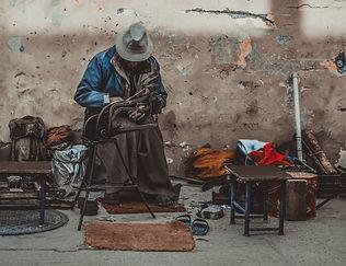 El zapatero TIbetano -  Anahi Clemens -