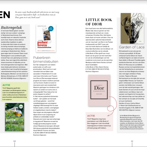 Book review on Tulp Magazine