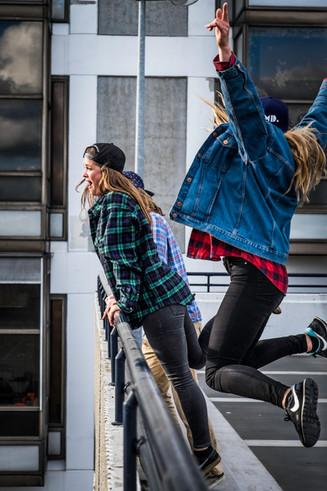 ADHD Hats - Skater Fashion Editorial