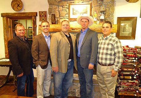 NAJS board of directors: Jason Skinner M.D., Craig Jones, Chris Bryant, DaveDeschenes, Scott Evans