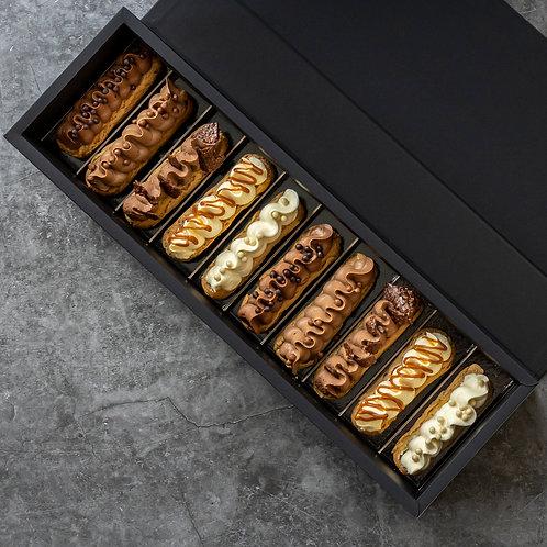 Boîte d'Éclairs: Chocolate Lover