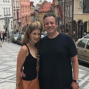 Strolling in Prague