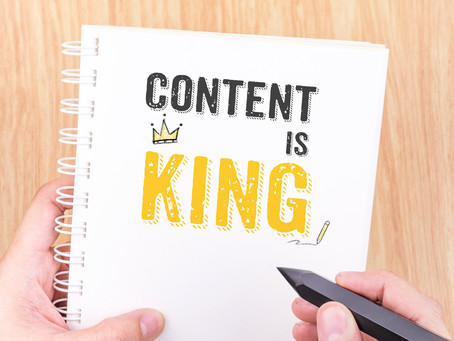 Content is King, Or Not