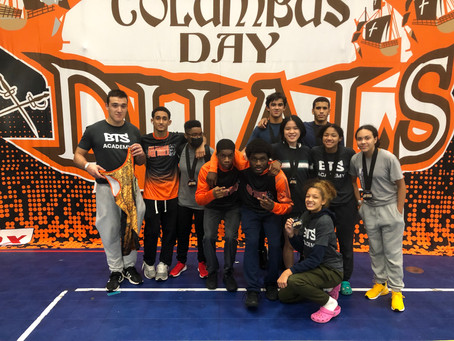BTS Competes at 2021 Tyrant Columbus Day Open