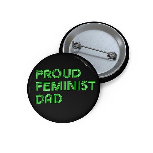 Feminist Dad Pin