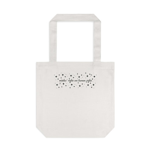 Witches' Rights Tote Bag, Cream
