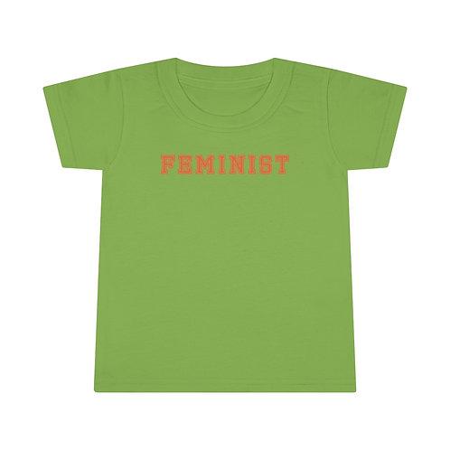 Varsity Feminist Toddler T-shirt