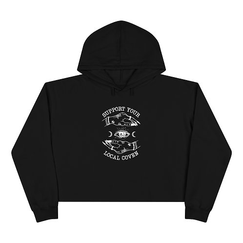 Witchy Cropped Hoodie