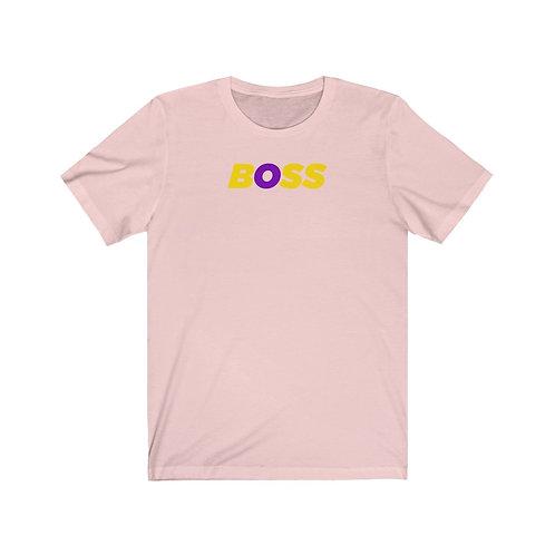 "Intersex Pride ""Boss"" Unisex T-Shirt"
