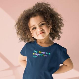 Cute Toddler in a Feminist T-shirt