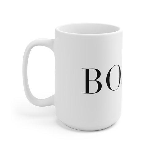 15oz BossX™ Mug, White