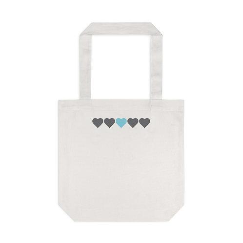 Maternal Hearts Tote Bag, Cream