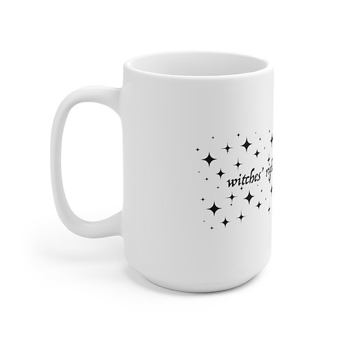 Witches' Rights Mug, White