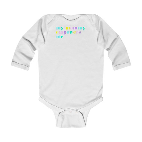 Mommy Empowers Long Sleeve Onesie