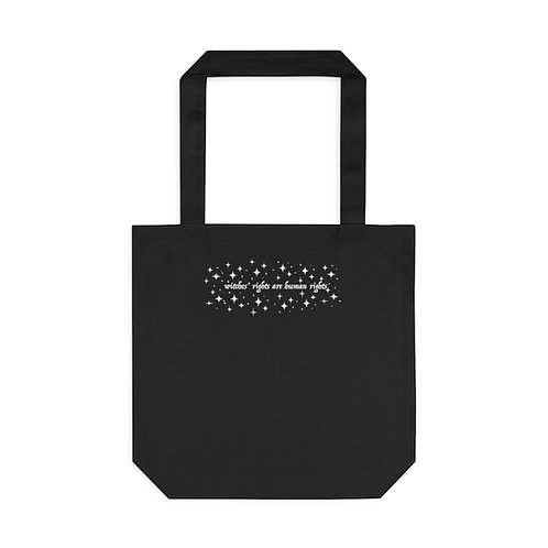 Witches' Rights Tote Bag, Black