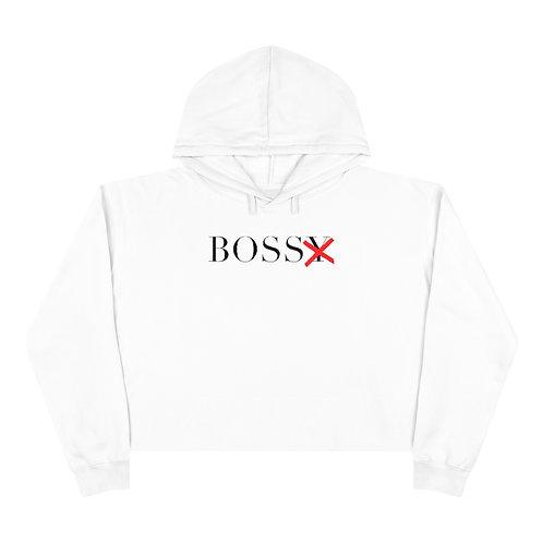 BossX Cropped Hoodie