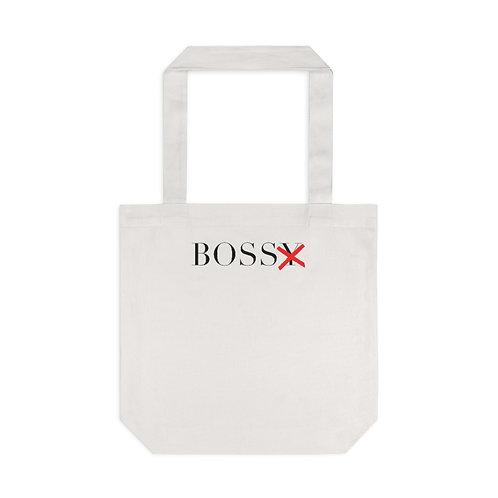 BossX™ Cotton Tote Bag, Cream