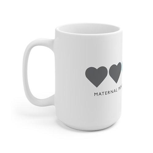 Maternal Hearts Mug, White
