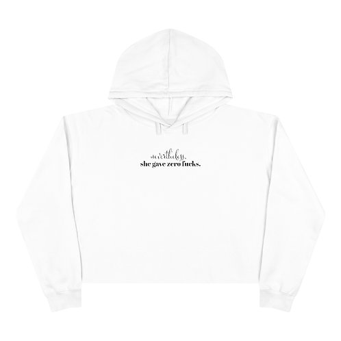 Nevertheless Cropped Hoodie