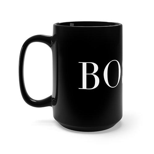 15oz BossX™ Mug, Black