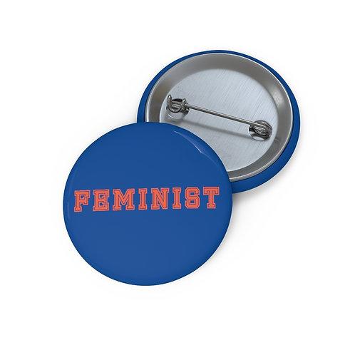 Varsity Feminist Pin