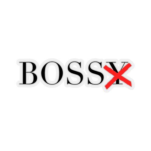 BossX™ Kiss-Cut Stickers