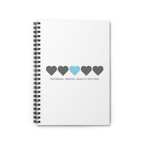 Maternal Hearts Spiral Notebook