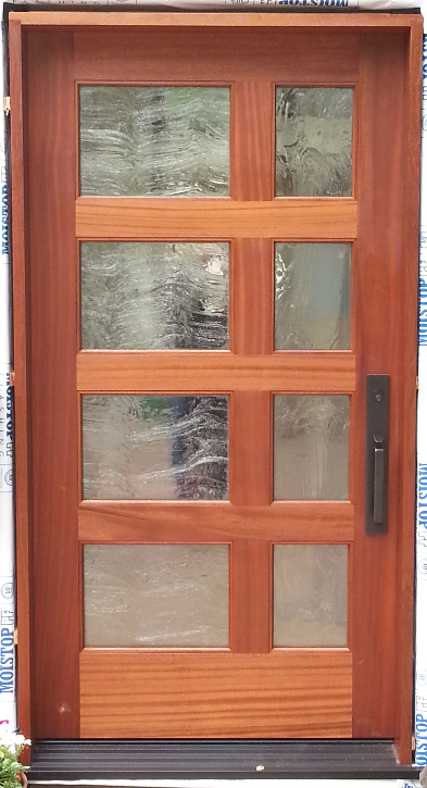 Custom Wood/Glass Door