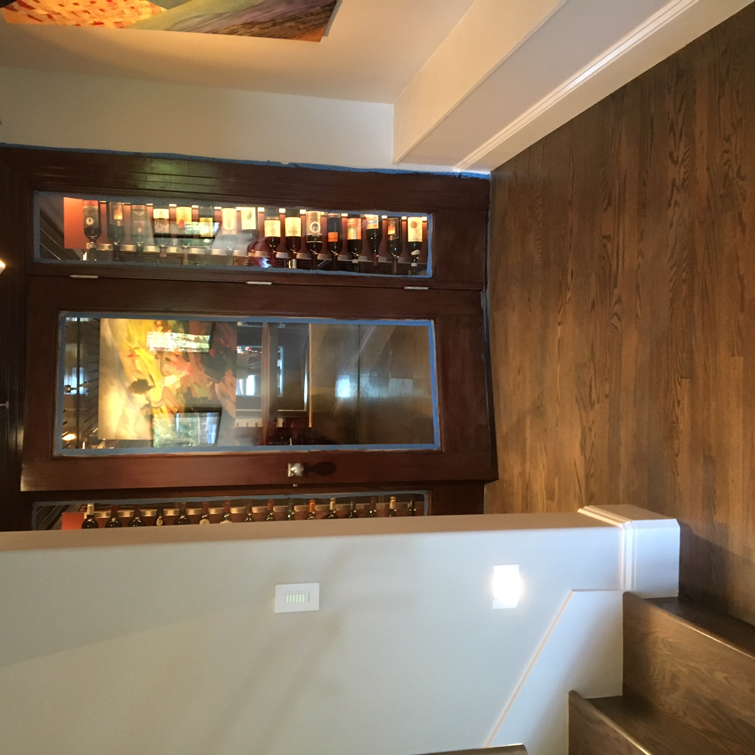 Custom Wine Cellar Door / Sidelights