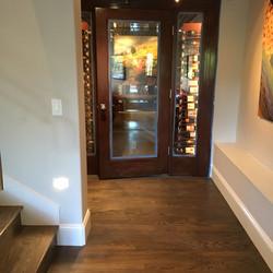 Custom Wine Cellar Door / Sidelights