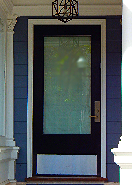 Custom Wood Door, San Francisco
