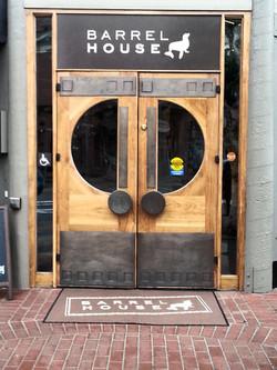 Barrel House Custom Wood Door, SF