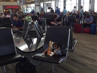 RDU Airport - Gate C21- last summer