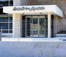 CARTECHINI ARGENTI - LOGO ACCIAIO INOX L