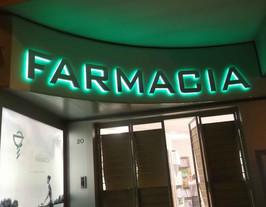 FARMACIA - LUMINOSA FOREX + INOX LUCIDO
