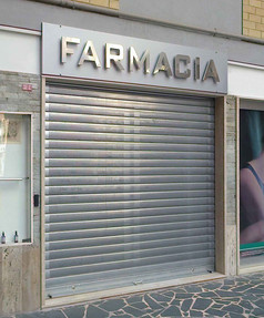 FARMACIA - LUMINOSA FOREX + INOX LUCIDO.