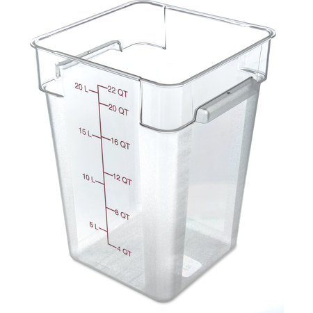 "Carlisle- StorPlus™ Food Storage Container, 22 qt., 11.13"" x 15.72""H"