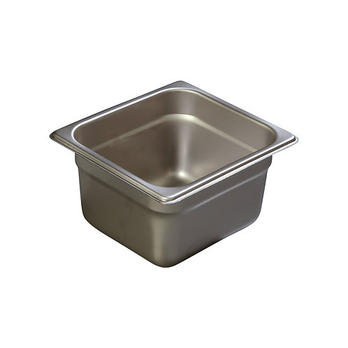 "Carlisle- DuraPan™ Steam Table Pan, 1/6-size, 2 qt., 4"" deep"