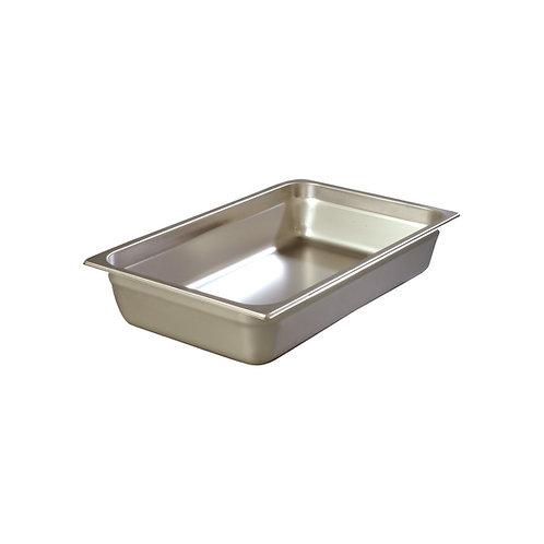"""Carlisle- DuraPan™ Steam Table Pan, full size, 12.5 qt., 4"""" deep"""