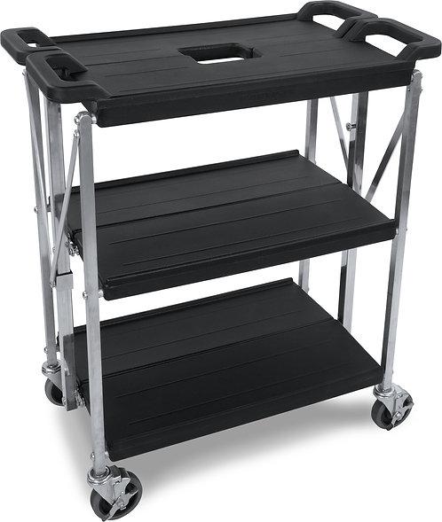 "Carlisle - Fold 'N Go® Cart 15"" x 21"" - Black"