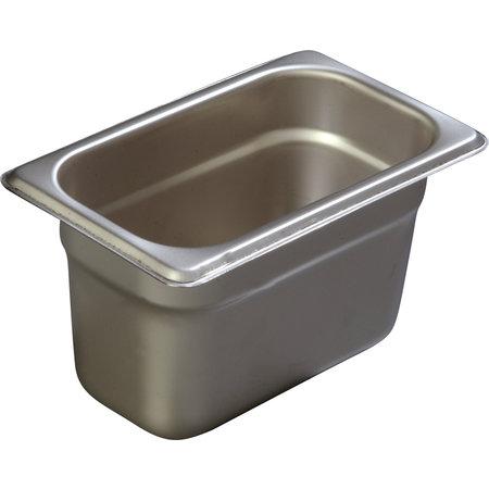 """Carlisle- DuraPan™ Steam Table Pan, 1/9-size, 1.10 qt., 4"""" deep"""